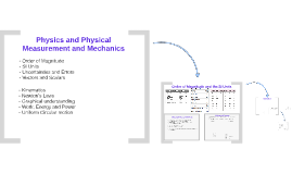 Physics and Physical Measurement and