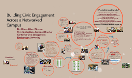 Building Civic Engagement Across a Networked Campus