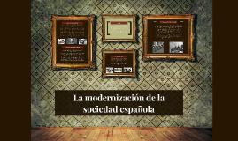 La modernización de la sociedad española