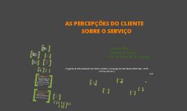 Apresentação - As Percepções do Cliente sobre o Serviço