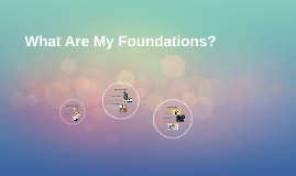 What Are My Foundations?