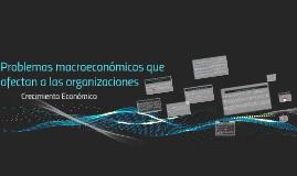 Copy of Problemas macroeconómicos que afectan a las organizaciones