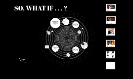 SO, WHAT IF . . . ?