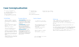 Case Conceptualization 2