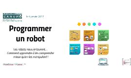 Programmer un robot