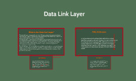 Copy of Data Link layer