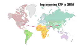 Implementing ERP in China