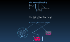 blogging for literacy?