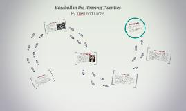 Baseball in the Roaring Twenties
