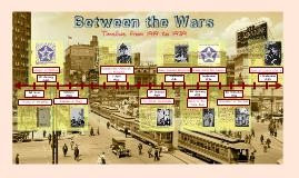 Copy of Between the wars