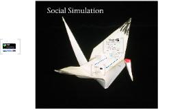 Social Simulation: principles