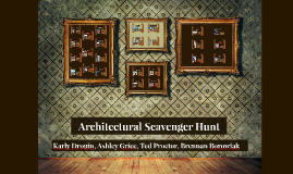 Architectural Scavenger Hunt