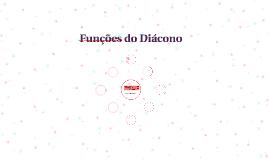 Funções do Diácono