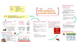 Ordering: Handbooks & Curriculum 2017