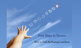 Copy of Copy of Copy of Five Steps to Success