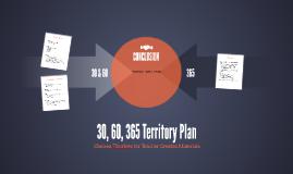 Teacher Created Materials: 30, 60, 365 Territory Plan
