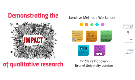 Demonstrating the Impact of Qualitative Reserarch