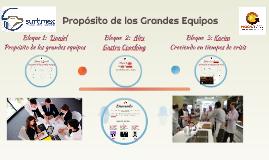 SURTIMEX 2017 GASTRO COACHING Y PROPOSITO DE LOS GRANDES EQUIPOS