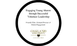 Engaging Young Alumni through Successful Volunteer Leadership