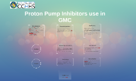 PPI use in GMC