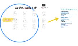 Social Praxis Lab, Pratt Institute Fall, 2017