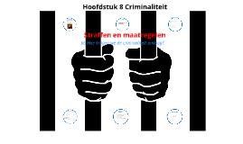 Hoofdstuk 8 Criminaliteit §6