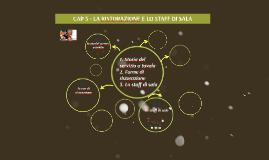 CAP. 5 LA RISTORAZIONE E LO STAFF DI SALA
