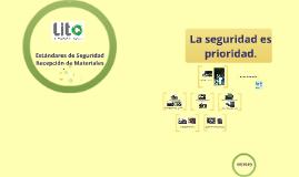 Copy of Estandares seguridad para recepción de materiales