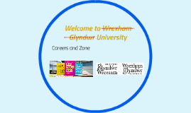 Welcome to Wrexham Glyndwr University