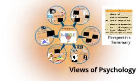 Models of Psychology