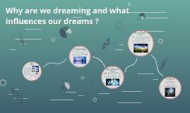 Why are we dreaming and what influences our dreams ?