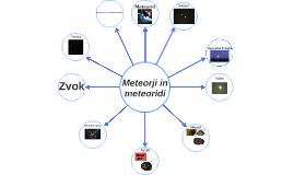 Meteorji in meteoriti