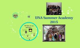 UNA Summer Academy 2015
