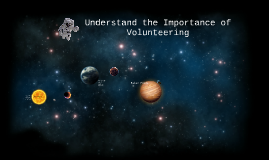 The importance of volunteering