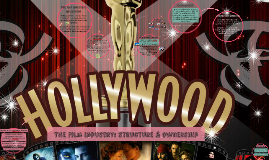 Copy of The film industry: structure & ownership