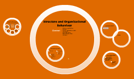 Structure and Organizational Behaviour