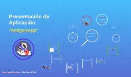 Presentación de Aplicación