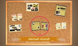 Hannah Arendt - Culture Final