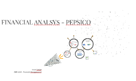 FINANCIAL ANALSYS - PEPSICO