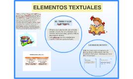 Copy of ELEMENTOS TEXTUALES