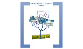 Towards an Ethics Platform for Tourism
