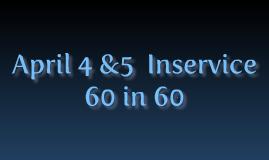 Copy of 60 in 60