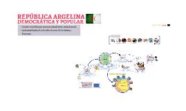 Copy of República Argelina, democrática y popular