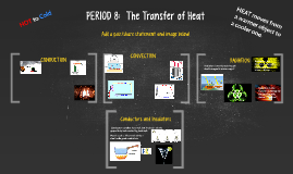PERIOD 8:  The Transfer of Heat