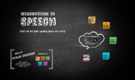 1. Speech Intro