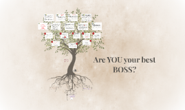 BE YOUR OWN BOSS - PART 1
