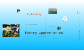 Copy of Poetry Appreciation