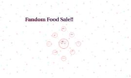 Fandom Sale Ideas