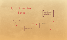 Ritual in Ancient Egypt