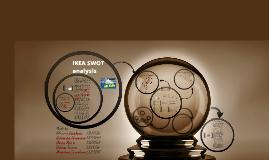 Copy of IKEA SWOT analisys